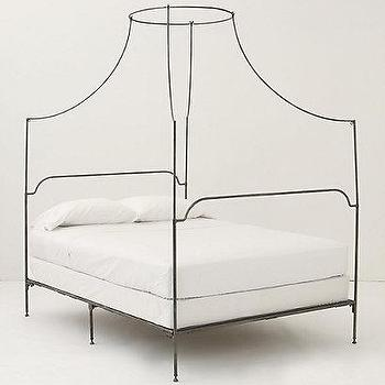 Italian Campaign Canopy Bed, Anthropologie.com