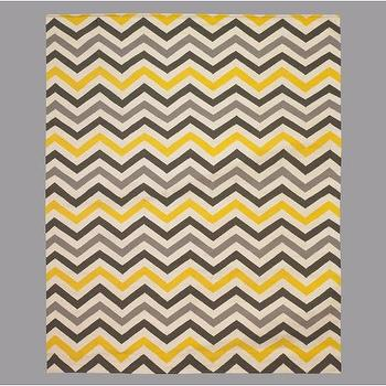 DwellStudio, ZIG ZAG CITRINE RUG 8X10, Rugs, Decor
