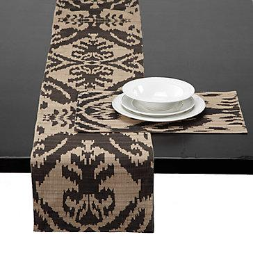 Z Gallerie Avani Runner Amp Placemats Chocolate