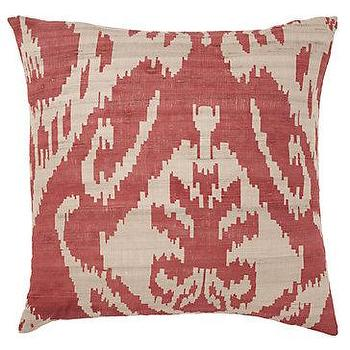 Pillows - Z Gallerie - Avani Pillow 20 - pink, ikat, avani, pillow