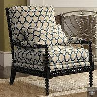 Seating - Custom Bobbin Chair - moorish, tiles, bobbin, chair