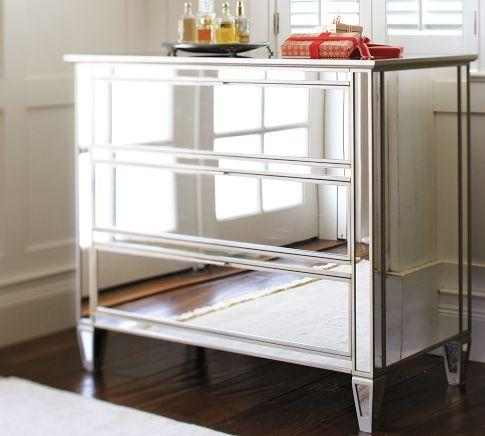 Park Mirrored Dresser Pottery Barn