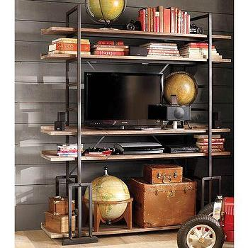 Storage Furniture - Lockwood Bookcase | Pottery Barn - lockwood, bookcase