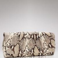 Miscellaneous - Lauren Merkin Caroline Embossed Python Clutch - Handbags - Ceremony - The Wedding Shop - LOOKBOOKS - Fashion Index - Bloomingdale's - laura merkin, python, cluth
