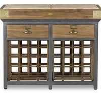 Storage Furniture - French Chef's Kitchen Island with Drawers | Williams-Sonoma - Kitchen Island