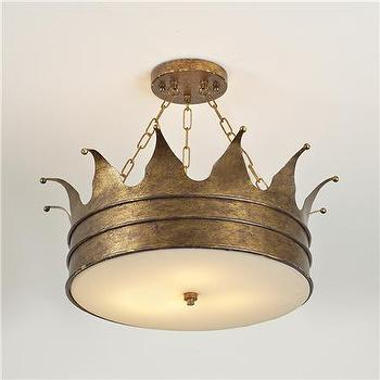 Lighting - Crown Ceiling Light - Shades of Light - crown, ceiling, light
