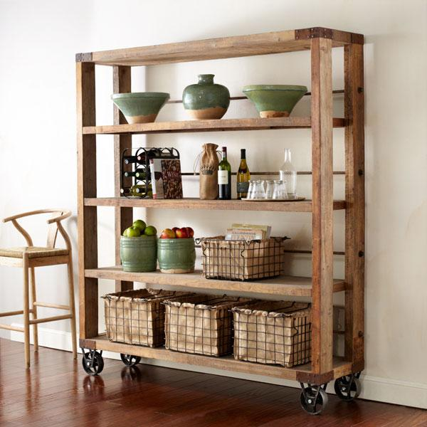 Storage Furniture - Recycled Pine Wood Bookcase | Shelves & Bookcases | Wisteria - recycled, pine, bookcase