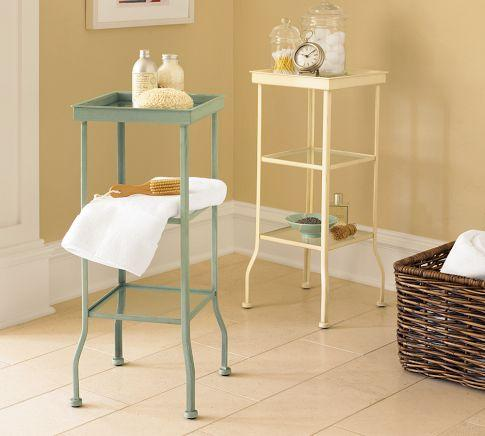 Small bathroom accent tables small bathroom accent for Small bathroom accent tables