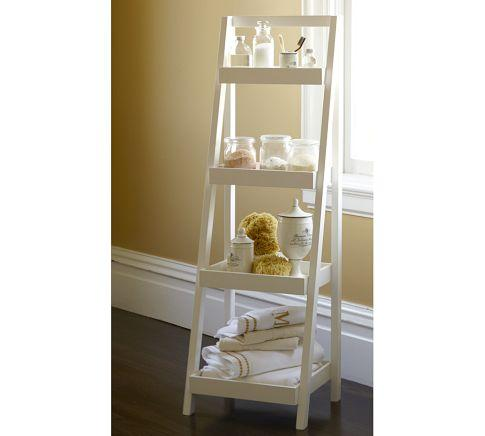 Floor Standing Ladder Pottery Barn