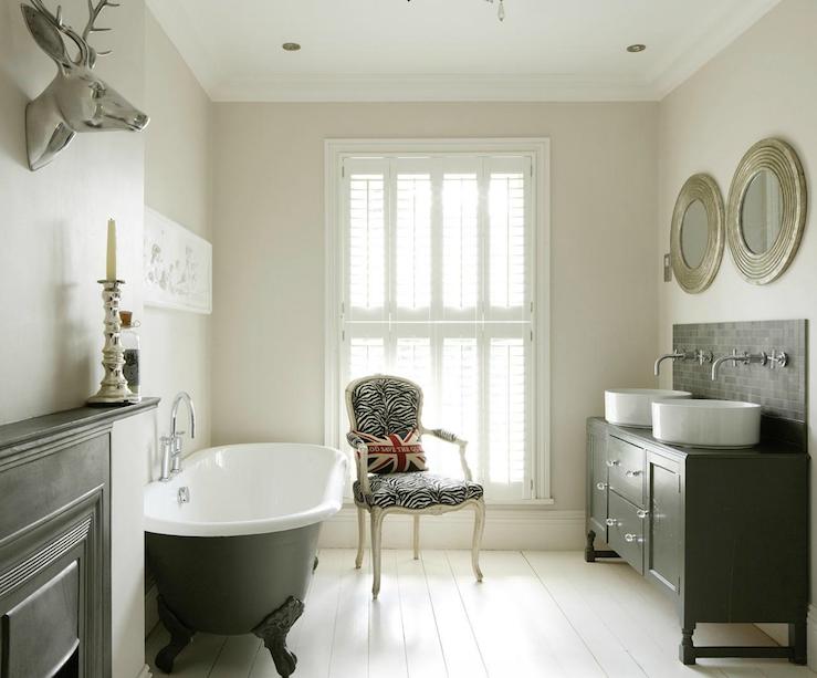 Clawfoot Tub Bathroom Design Eclectic Bathroom 1st Option