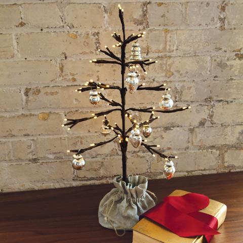 Littlest Lit Tree, Christmas, Olive & Cocoa