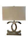 Lighting - CC lamp - Gilt Home - chanel lamp, chanel, cc lamp, cc logo lamp, chanel table lamp
