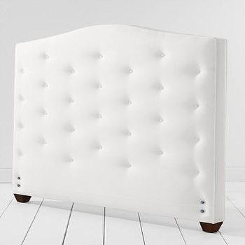 Beds/Headboards - Big Bay Tufted Headboard from Lands' End - tufted, headboard