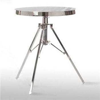 Tables - Tripod Telescoping Side Table - Shades of Light - tripod, telescoping, table
