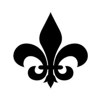 Decor/Accessories - Template 7 | Flickr - Photo Sharing! - fleur de lis, stencil