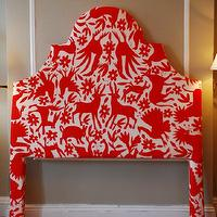 miscellaneous - headboard, arch, otomi,  Design Sponge DIY headboard (http://www.designsponge.com/2009/09/diy-video-graces-upholstered-otomi-headboard.html)