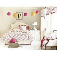 Bedding - Aimee Pink Bedding Collection - Ballard Designs - pink, moorish, tiles, aimee, bedding