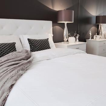 Floor to Ceiling Mirror, Contemporary, bedroom, Jennifer Backstein Interiors