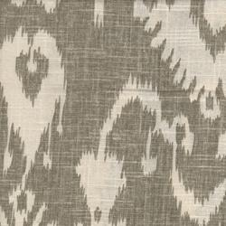 Bristow Smoke Ikat Drapery Fabric