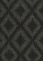 Fabrics - Ikat Fret Pewter Multi-Purpose Fabric by Robert Allen - ikat, fret, pewter, gray, fabric, robert allen