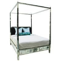 Beds/Headboards - Oly Studio Morgan Bed - oly studio, mirrored, morgan, bed