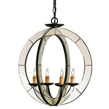 Lighting - Currey & Co Meridian Chandelier - currey & co, meridian, chandelier