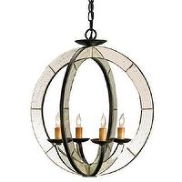 Lighting - Currey &amp; Co Meridian Chandelier - currey &amp; co, meridian, chandelier
