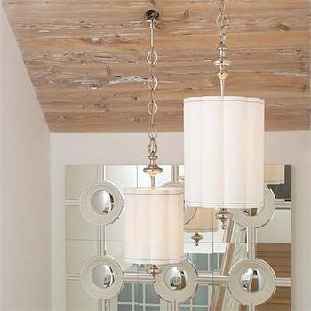 Lighting - Fluted Nickel Pendant - fluted, nickel, pendant