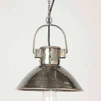 Bucket Pendant Lamp, Anthropologie.com