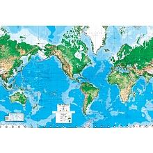 World Map 8Ft x 13Ft Wall Mural, Environmental Graphics, Toys