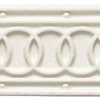 Tiles - Chinoiserie Annulet Interlace Border Products | Waterworks - waterworks, architectonics, chinoiserie, annulet, interlace, border, tile