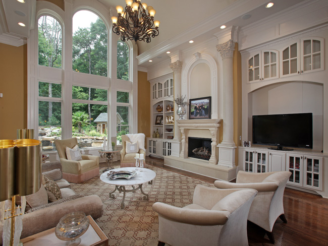 Iike my Family room big and Bright. on Pinterest | High Ceilings, Family Rooms and Living Rooms