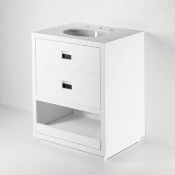 Bath - Single Vanity Products | Waterworks - waterworks, opus, single, vanity