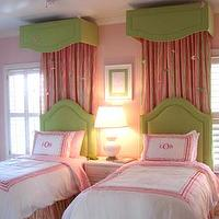 girl&#039;s rooms - bedroom, girl, pink, green, white, pink and green girls room, pink and green girls bedroom, pink and green room ideas, pink and green girls bedroom ideas,