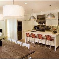 kitchens - kitchen, lamps,  white kitchen