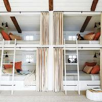 Elle Decor - boy's rooms - bunk beds, built in bunk beds, boys bunk beds, boys built in bunk beds, boys beds,  bunks