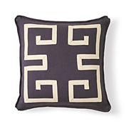 Gump's greek key pillow