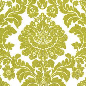 wallpaper spring green damask fabric green metallic damask