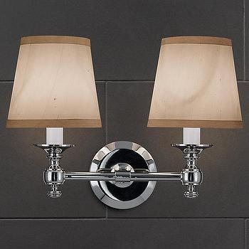 Lugarno Double Sconce, Bath Sconces, Restoration Hardware
