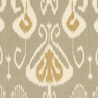 Fabrics - Toscana Ikat Slate Fabric By the Yard - Ballard Designs - toscana, ikat, slate, fabric