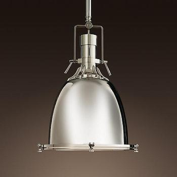 Lighting - Benson Pendant | Pendants | Restoration Hardware - industrial, yoke, benson, pendant