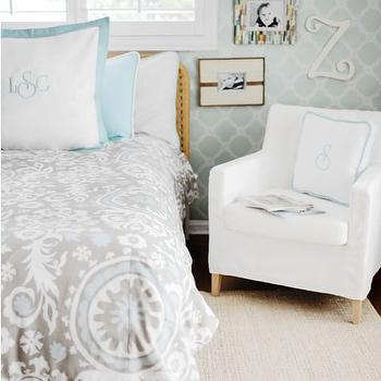 New Arrivals Inc - boy's rooms - kids bedding, bedding, ikat duvet, gray and turquoise room, gray and turquoise kids room, gray and turquoise boys room, gray and turquoise kids bedroom, gray and turquoise boys bedroom,