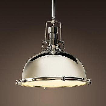 Lighting - Harmon Pendant | Pendants | Restoration Hardware - industrial, yoke, harmon, pendant