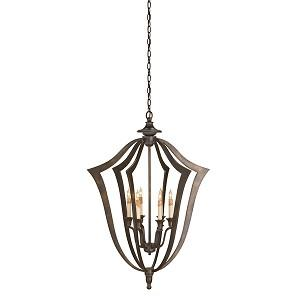 Lighting - Protocol Chandelier by Currey & Company - currey and co, protocol, chandelier