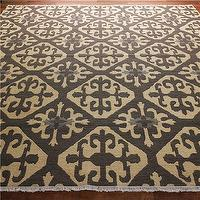 Rugs - Moroccan Tile Soumak Rug: 2 Colors - Shades of Light - moroccan, tiles, soumak, rug