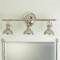Bath - Pullman Bath Light - 3 Light (2 Finishes!) - Shades of Light - pullman, industrial, triple, sconce