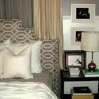DIY Upholstered Headboard Fabric: P Kaufmann Slick