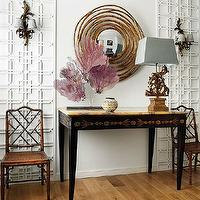 dining rooms - Dining, chinese chippendale chair, chippendale chair,  Moorish Trellis and chippendale chairs