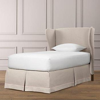 Beds/Headboards - French Wing Headboard | Beds & Bunk Beds | Restoration Hardware Baby & Child - french, wing, headboard