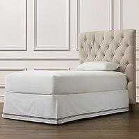 Beds/Headboards - Chesterfield Upholstered Headboard | Beds & Bunk Beds | Restoration Hardware Baby & Child - chesterfield, upholstered, tufted, headboard